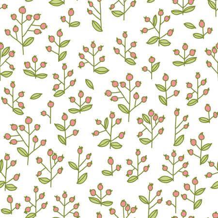 berryes seamless pattern