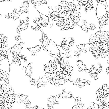 transparente motif floral Vecteurs
