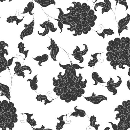 seamless: floral seamless pattern Illustration