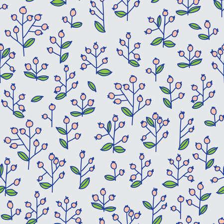 berryes: berryes seamless pattern