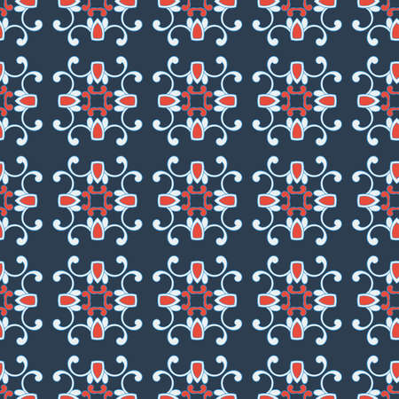 delicate arabic motif: classic seamless pattern for your design Illustration