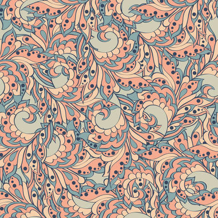 style: Seamless pattern in indian style