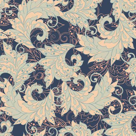vintage: vintage floral seamless pattern