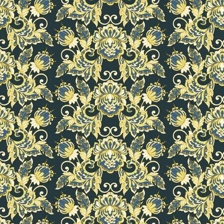 tillable: vintage floral seamless pattern