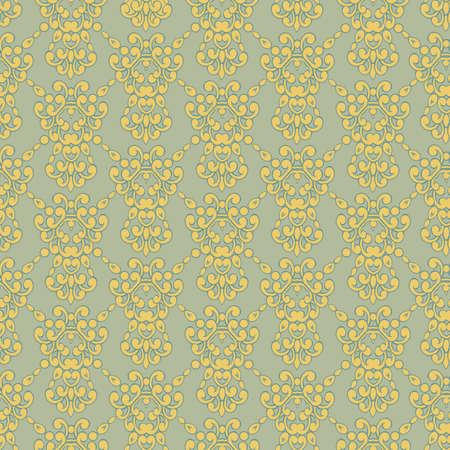 Vector vintage background for textile design