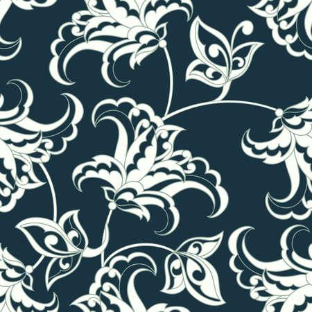 victorian wallpaper: floral vintage background