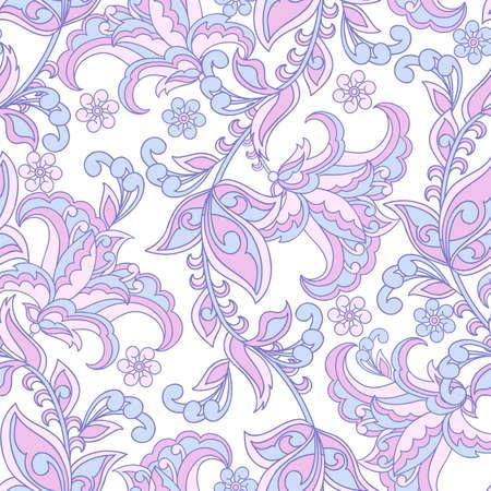 floral seamless pattern. Vintage vector background