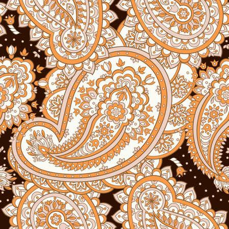 Motif asiatique de paisley. Banque d'images - 85135492
