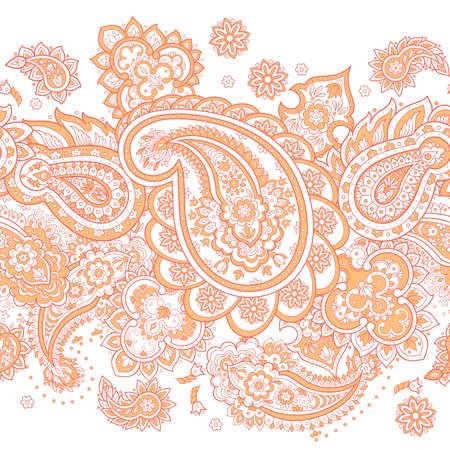 Paisley ethnic pattern