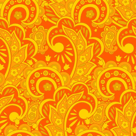 victorian wallpaper: Floral pattern. colorful background