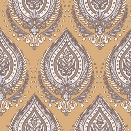indian teenager: Paisley style pattern