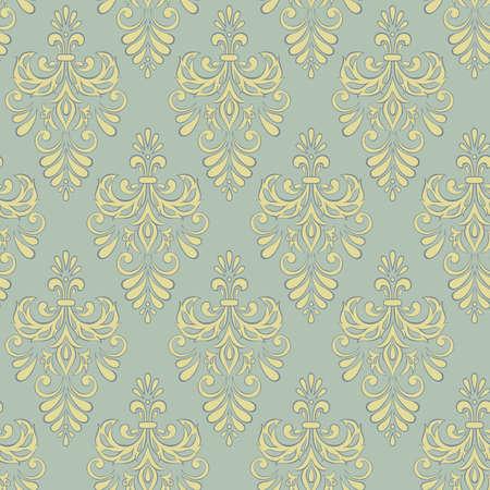 Vintage baroque pattern.