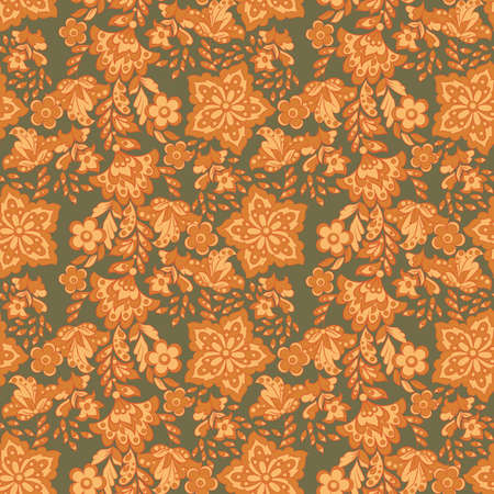 floral wallpaper. Seamless vector background