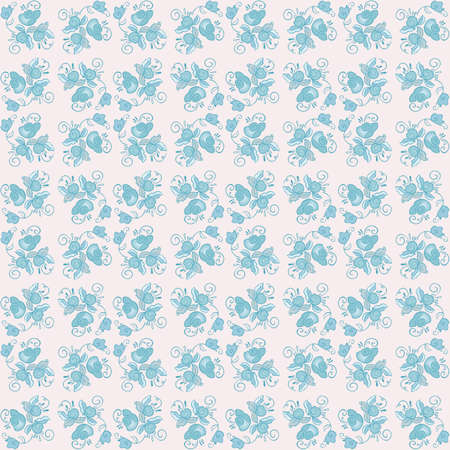 floral seamless pattern. colorful vector background