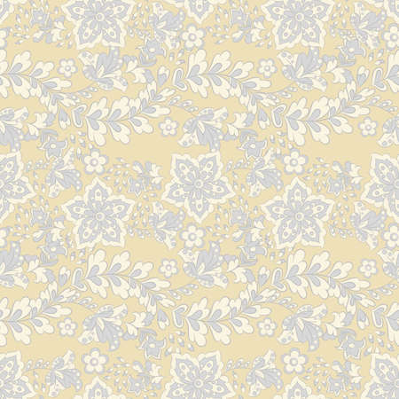 Floral oriental ethnic background. seamless vector pattern Stock Vector - 94764309
