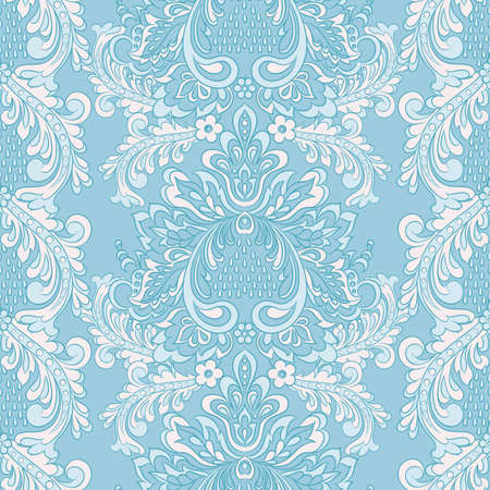 Baroque Seamless Pattern. floral vector wallpaper illustration.