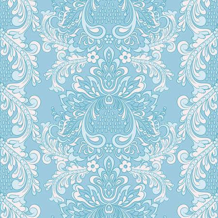 Baroque Seamless Pattern. floral vector wallpaper illustration.