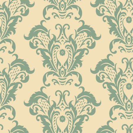 Vector vintage floral pattern. classic floral ornament. Floral texture for wallpapers, textile, fabric.