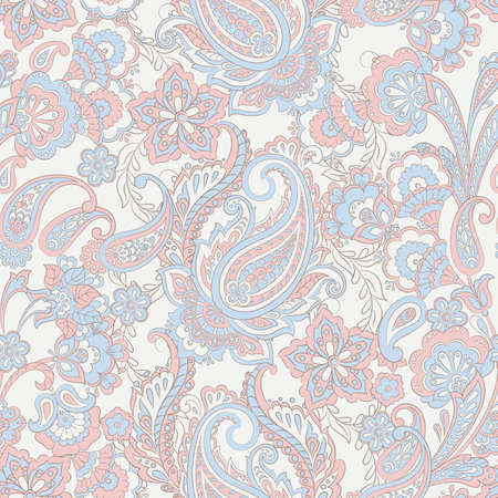 Paisley seamless pattern. Vector ethnic ornament Stock Vector - 123314375