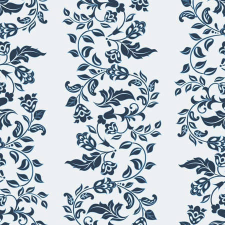 Beautiful vintage pattern. Floral vector background 矢量图像