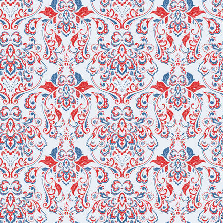 Seamless vintage background. Vector background for textile design
