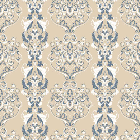 Floral seamless pattern  Vector wallpaper
