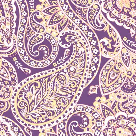 Paisley colorful ornament. Vector illustration Ilustrace