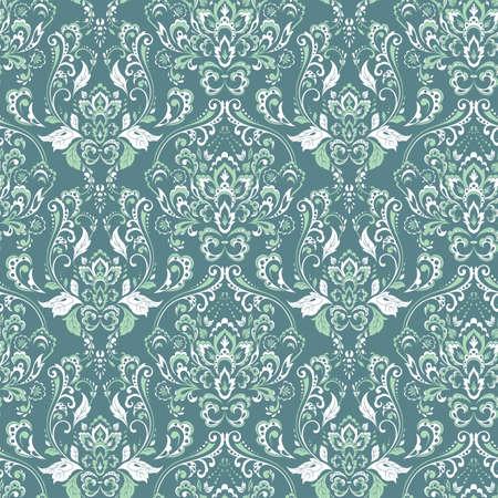Seamless vintage background. Vector background for textile design Ilustrace