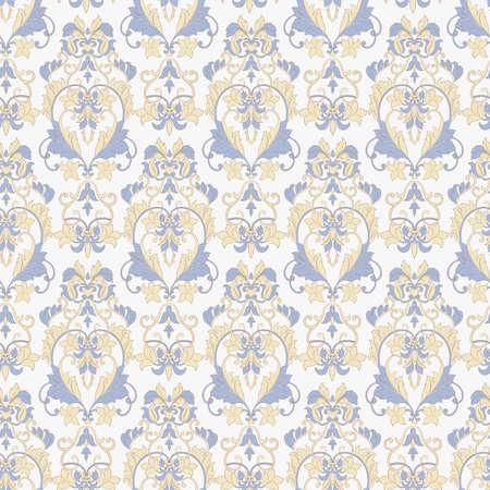 Seamless vintage vector background. Vector floral wallpaper Векторная Иллюстрация