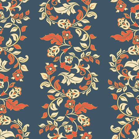 Beautiful vintage pattern. Floral vector background Ilustração