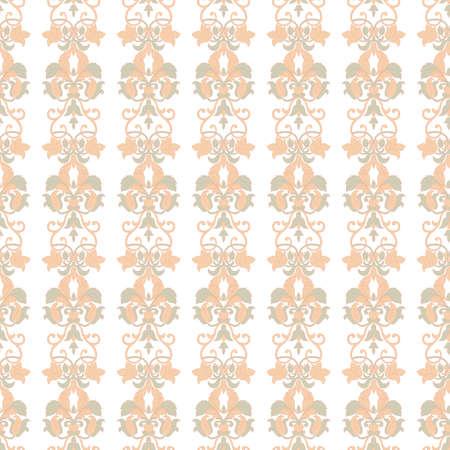 Seamless floral pattern. Vintage background Ilustração