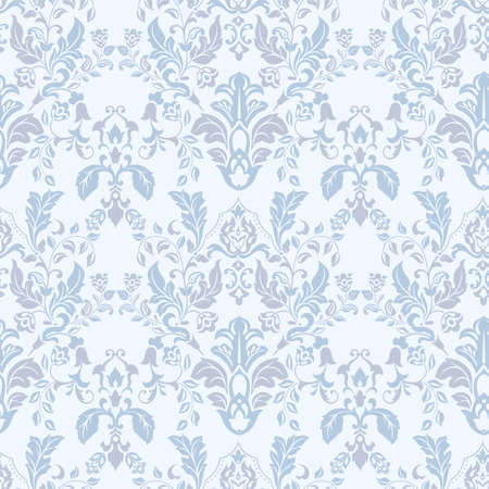vintage floral seamless patten. Classic Baroque wallpaper. seamless vector background Vetores
