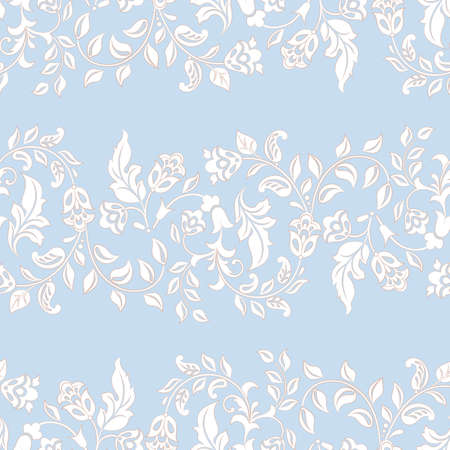 Beautiful vintage pattern. Floral vector background