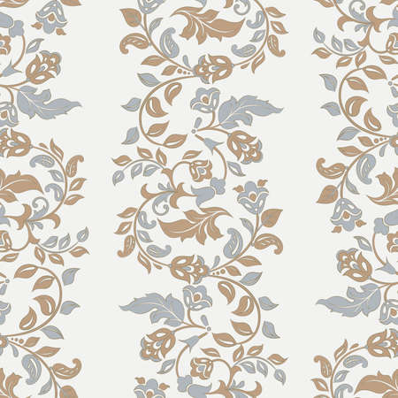 Beautiful vintage pattern. Floral vector background 向量圖像
