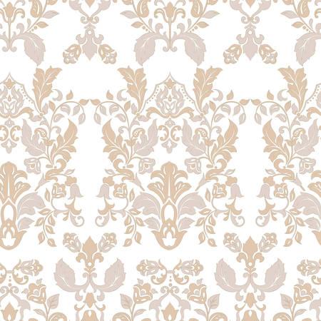 Seamless vintage wallpaper. Vector background for textile design Ilustracje wektorowe