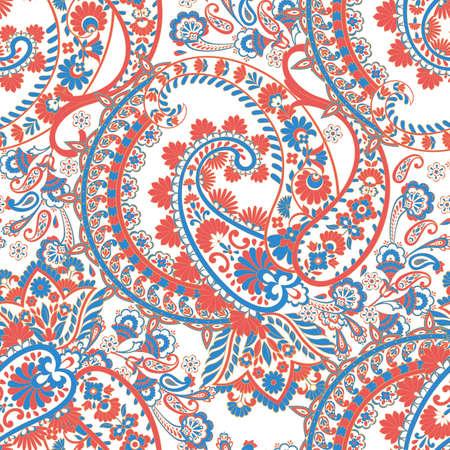 paisley seamless vector pattern