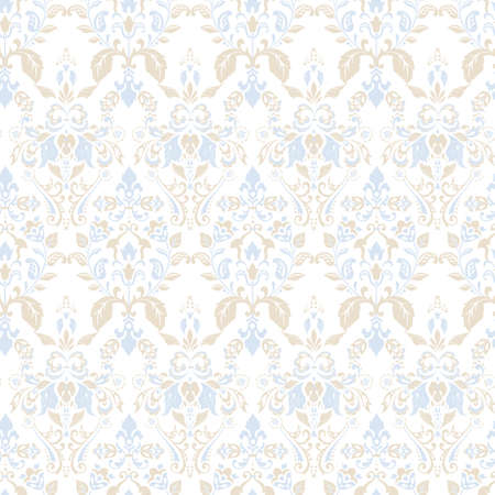 Seamless vintage vector background. Vector floral wallpaper baroque style pattern