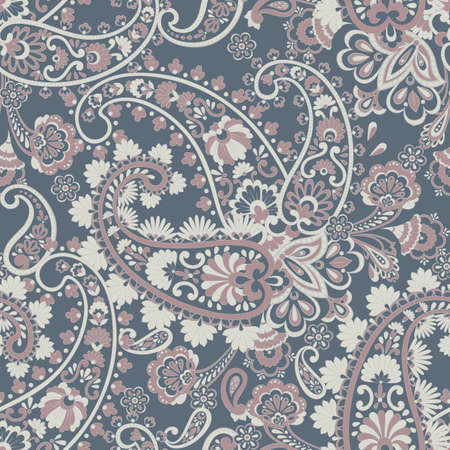 Paisley pattern, great design for any purposes. Seamless vector background