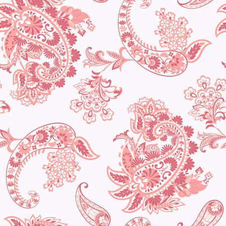 Paisley seamless pattern. Vector ethnic ornament