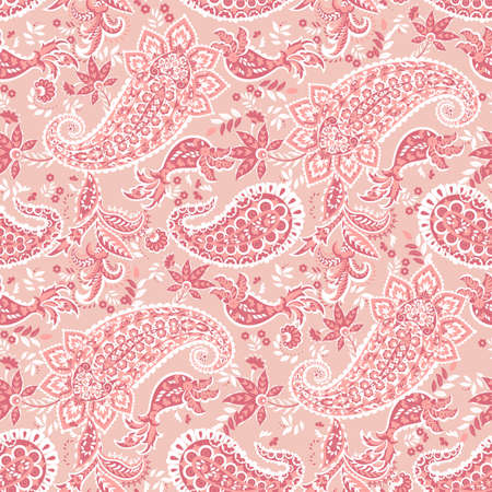 Paisley Damask ornament. Seamless Vector pattern Vectores