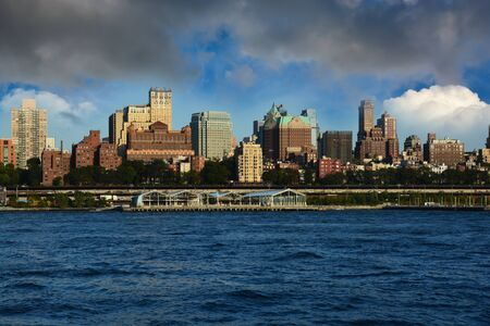 Brooklyn skyline, view from Manhattan, New York City