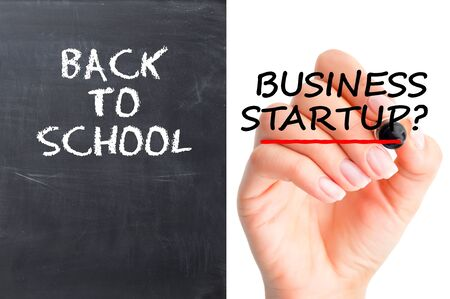 Going back to school or business startup dilemma