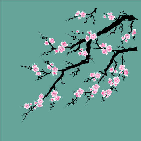spring in japan: Bamboo - Chinese Painting