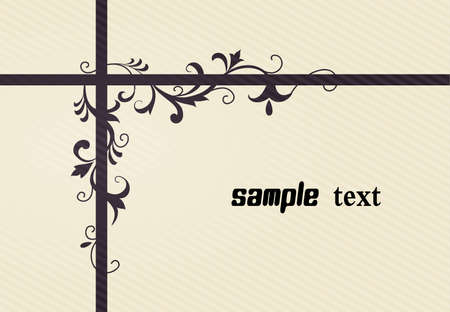 line drawing patterns background Vector