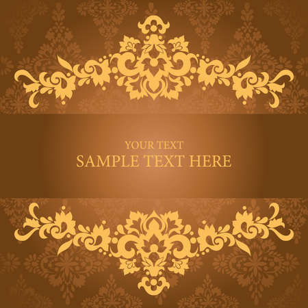 artistic flower background for your text.