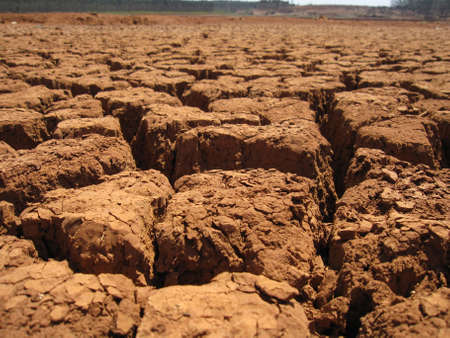 Dry soil texture Stock Photo - 15220721
