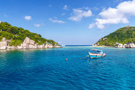 Crystal Clear Water at Tropical Island, Koh Tao, Thailand