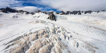 franz josef: Franz Josef Glaciar de la visi�n superior, Nueva Zelanda