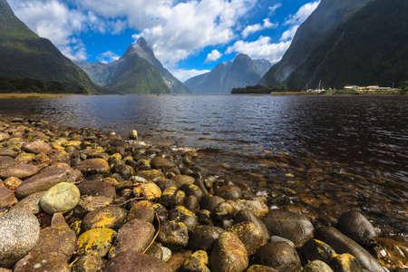milford: Milford sound New Zealand