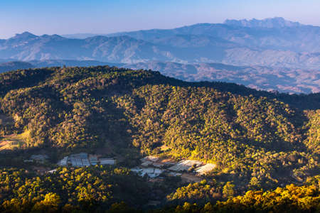 mountain ranges: Tropical forest and mountain ranges, Chiang Mai, Thailand